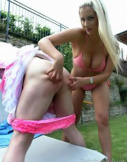 Big Trouble For A Little Sissy