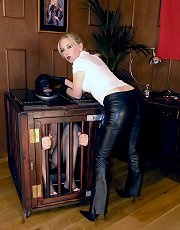 Leather Jeans Smother